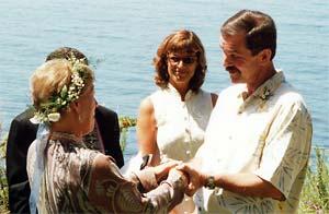 My third wedding to Larry Kingsland