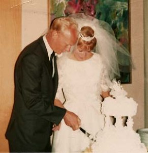 My first wedding to Pete Hanson